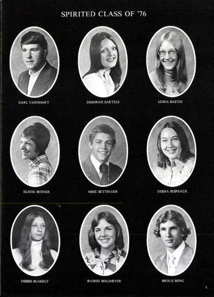 1976 Arrowhead High School Yearbook Page 9