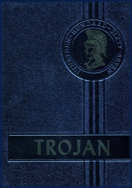 1967 Lincoln Memorial High School Yearbook Cover