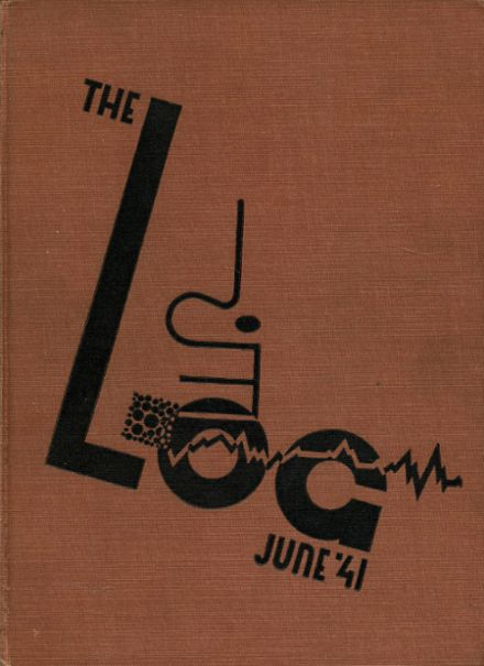 1941 James Madison High School Yearbook Cover