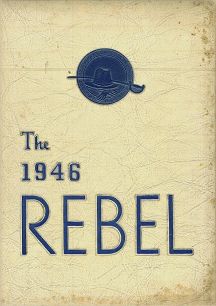 1946 Carlisle Military School Yearbook Cover