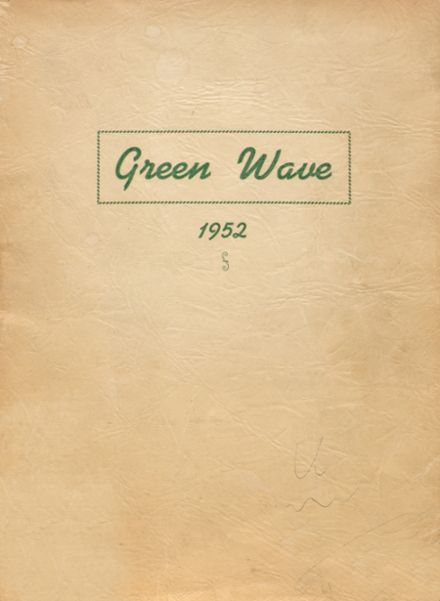 1952 Long Branch High School Yearbook Cover