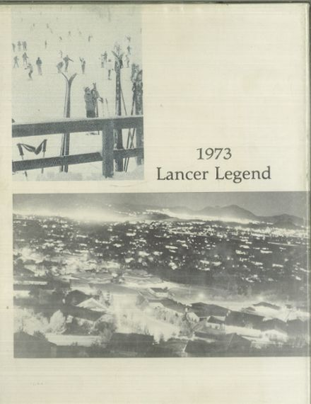 1973 Thousand Oaks High School Yearbook Cover