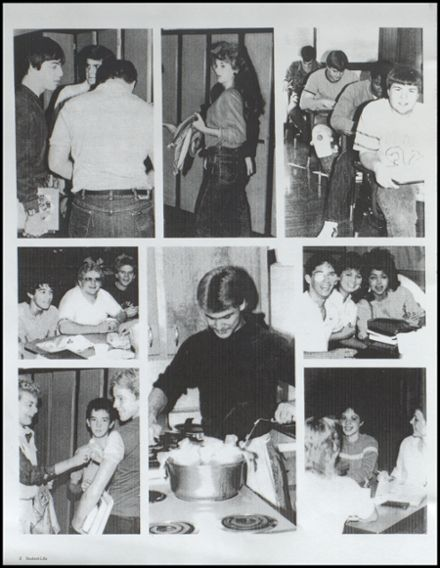 1985 Ironton High School Yearbook Page 4