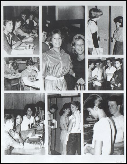 1985 Ironton High School Yearbook Page 5