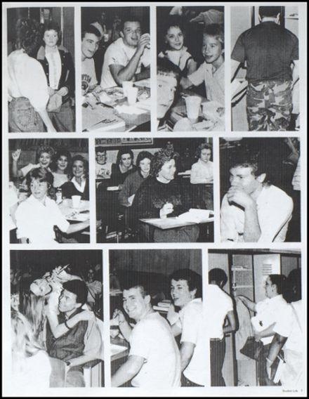 1985 Ironton High School Yearbook Page 9