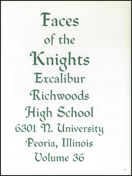 1993 Richwoods High School Yearbook Page 5