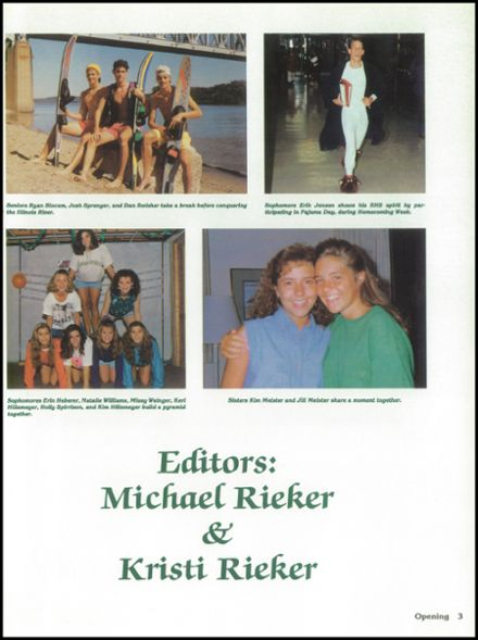 1993 Richwoods High School Yearbook Page 7