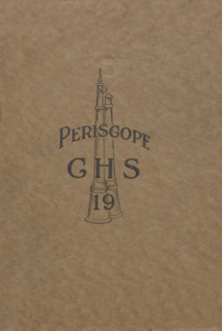 1919 Cameron High School Yearbook Cover