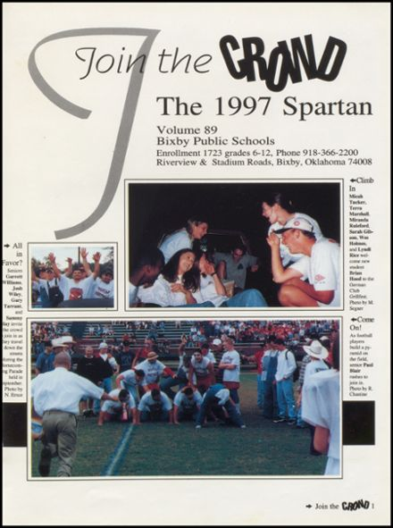 1997 Bixby High School Yearbook Page 5