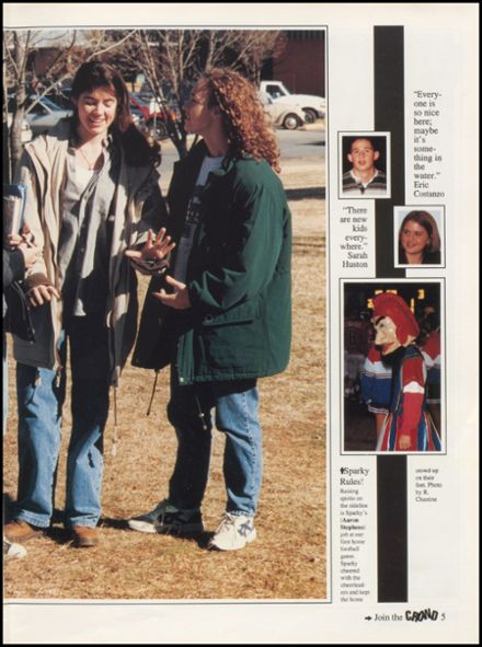 1997 Bixby High School Yearbook Page 9