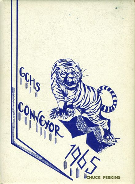 1965 Grand Coulee High School Yearbook Cover