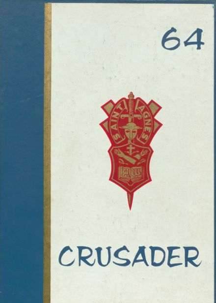 1964 St. Agnes Academy Yearbook Cover