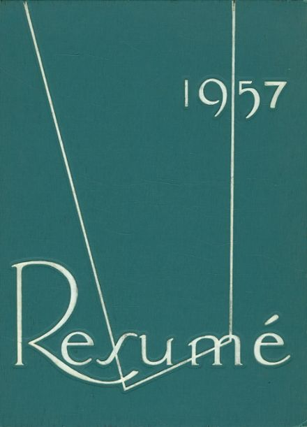 1957 Southwest High School Yearbook Cover