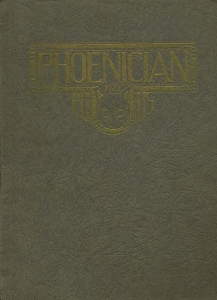 1925 Phoenix Union High School Yearbook Cover