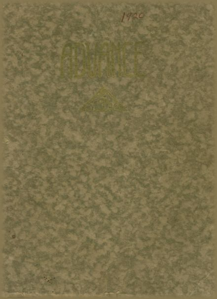1920 Arcata High School Yearbook Cover