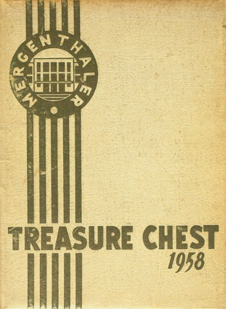 1958 Mergenthaler Vocational Technical High School 410 Yearbook Cover