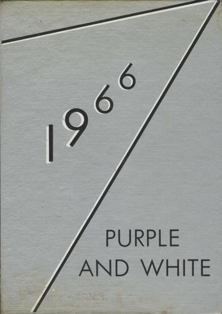 1966 Pittsburg High School Yearbook Cover