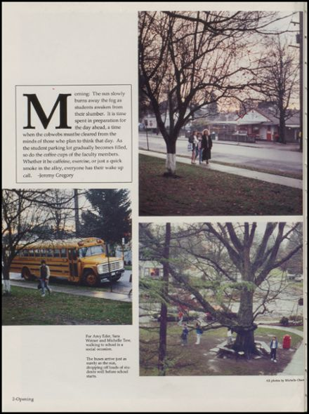 1990 Snohomish High School Yearbook Page 6