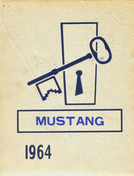1964 Tri-County High School Yearbook Cover