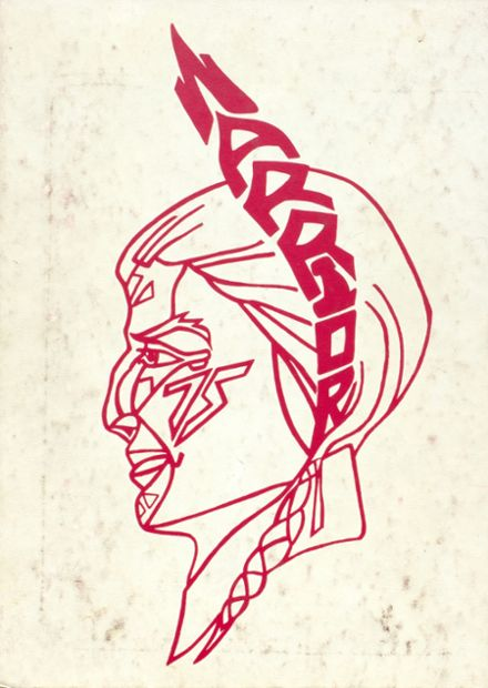 1975 Ohatchee High School Yearbook Cover