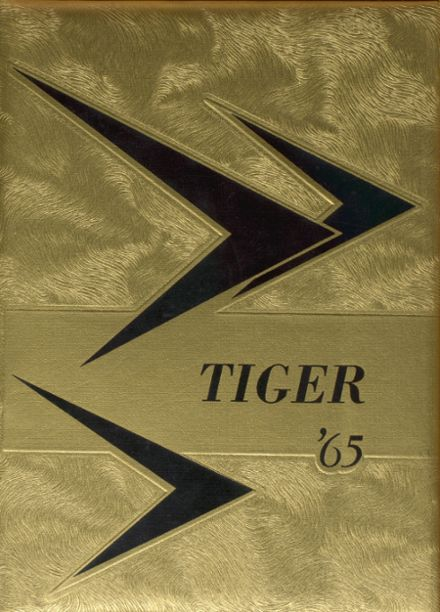 1965 Towle High School Yearbook Cover