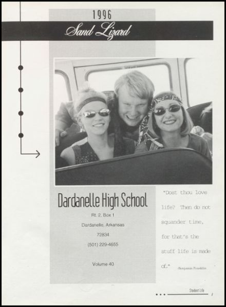 1996 Dardanelle High School Yearbook Page 5