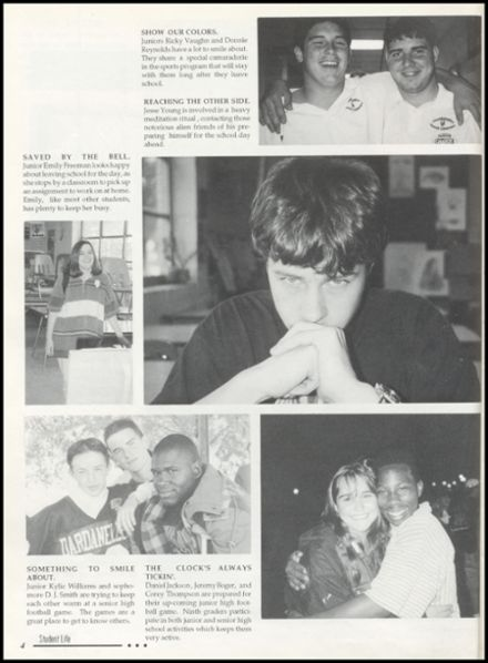 1996 Dardanelle High School Yearbook Page 8