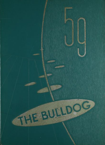 1959 Stamford High School Yearbook Cover