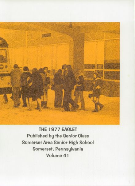 Explore 1977 Somerset Area High School Yearbook, Somerset PA