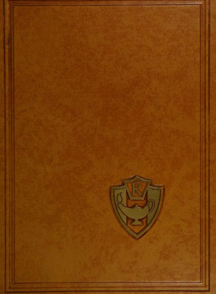 1960 Robbinsdale High School Yearbook Cover