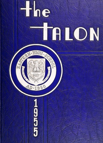 1955 Eastern High School Yearbook Cover