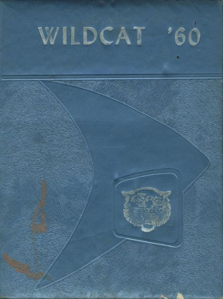 1960 Mt. Enterprise High School Yearbook Cover
