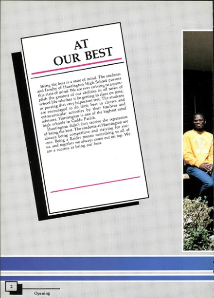 1988 Huntington High School Yearbook Page 6