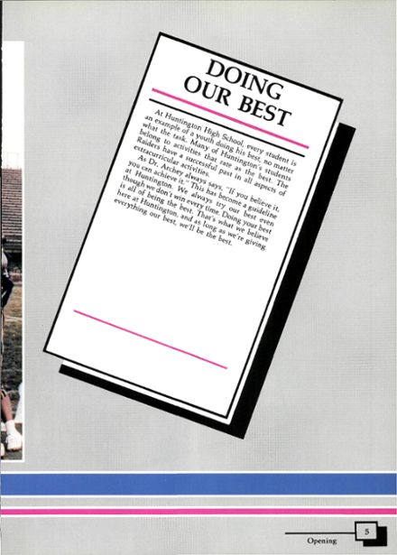 1988 Huntington High School Yearbook Page 9