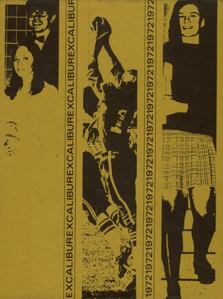 1972 Madison High School Yearbook Cover