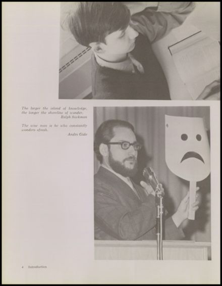 1970 Warren-Mott High School Yearbook Page 8