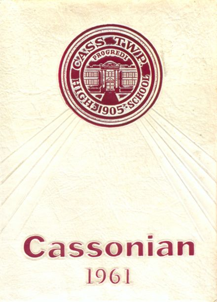 1961 Cass Township High School Yearbook Cover