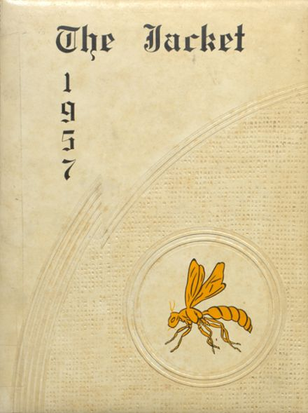 1957 Abbeville High School Yearbook Cover
