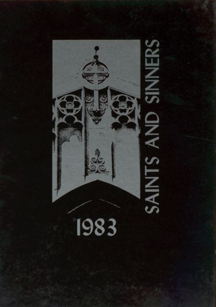 1983 St. Anne's-Belfield High School Yearbook Cover