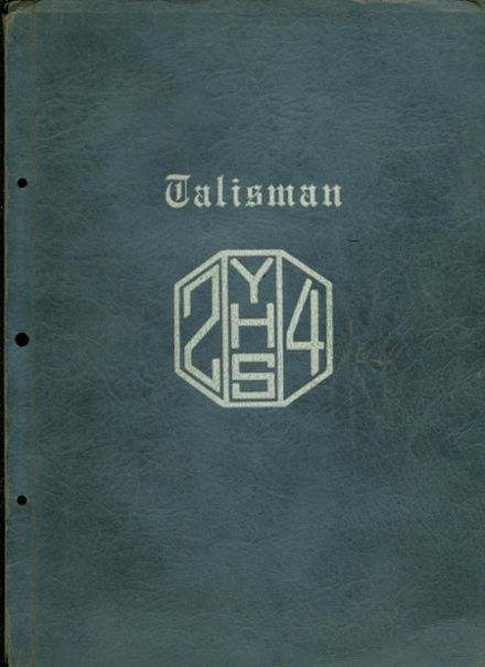 1924 York Township High School Yearbook Cover