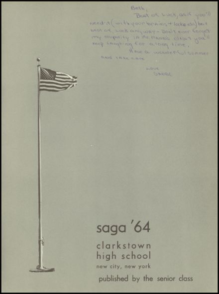 1964 Clarkstown High School Yearbook Page 5