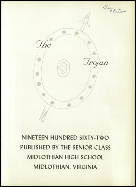1962 Midlothian High School Yearbook Page 5