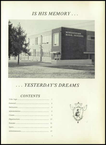1962 Midlothian High School Yearbook Page 7