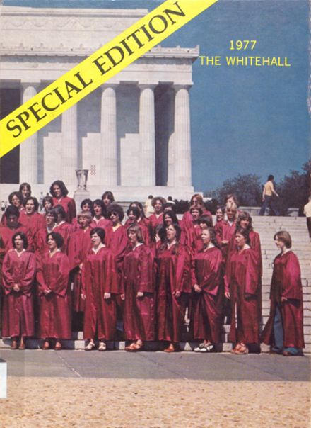 1977 Whitehall High School Yearbook Cover