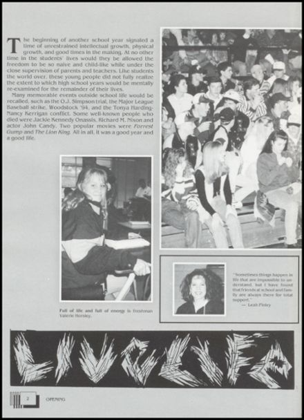 1995 Lindsay High School Yearbook Page 6