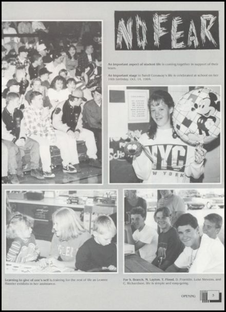 1995 Lindsay High School Yearbook Page 7