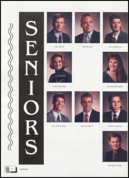 1995 Lindsay High School Yearbook Page 8
