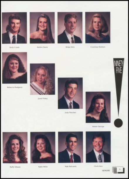 1995 Lindsay High School Yearbook Page 9