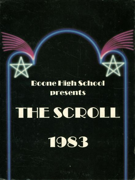1983 Boone High School Yearbook Cover