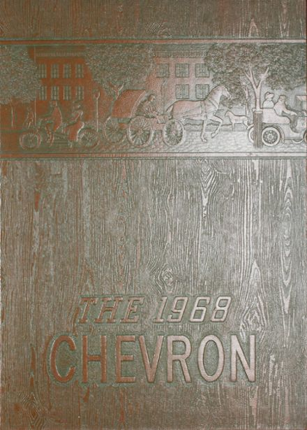 1968 Albion High School Yearbook Cover